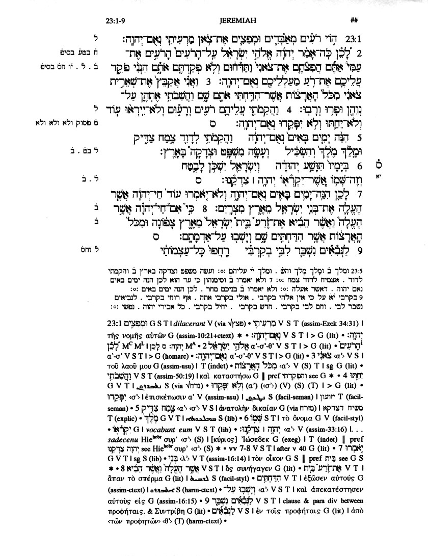 Weis, Biblica Hebraica Quinta and the Making of Critical
